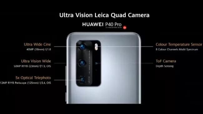 huawei p40 camera - Huawei P40 có gì hot?