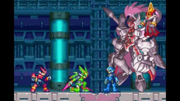 mega man zero zx legacy collection ps4 screenshot 1 600x338 - Đánh giá game Mega Man Zero/ZX Legacy Collection