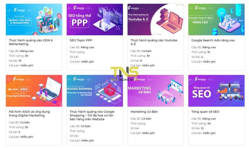 Đang miễn phí các khoá học marketing, SEO tiếng Việt 2