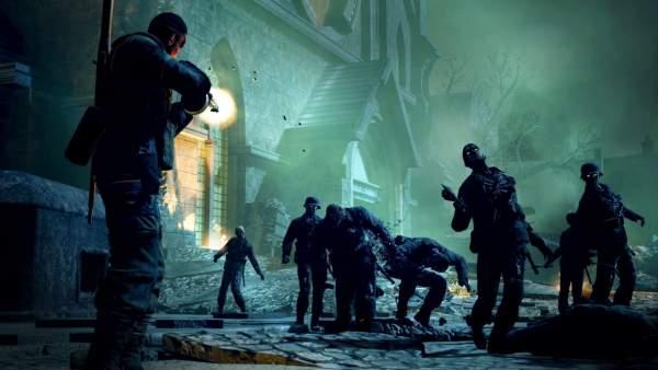zombie army trilogy switch screenshot 2 600x338 - Đánh giá game Zombie Army Trilogy phiên bản Switch