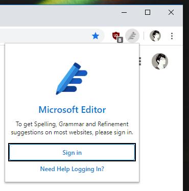 2020 04 13 17 30 07 - Dùng Microsoft Editor kiểm tra chính tả, ngữ pháp, câu cú trên trình duyệt