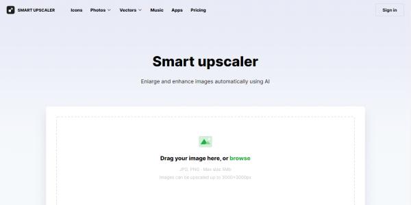 Smart Upscaler: Phóng to ảnh lên 4 lần không bị vỡ hình 1