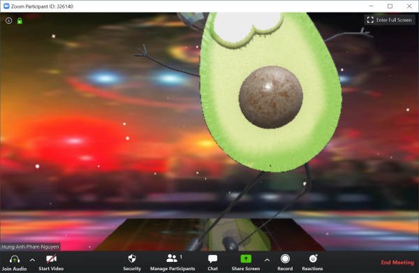 Cách biến bạn thành củ khoai tây khi họp video nhóm trên Zoom, Skype, Microsoft Teams,... 4