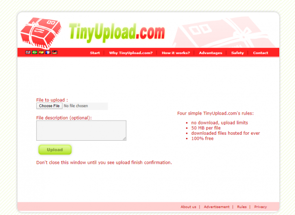 2020 04 30 15 25 10 600x437 - Cần chia sẻ file dung lượng nhỏ mà nhanh, hãy dùng TinyUpload