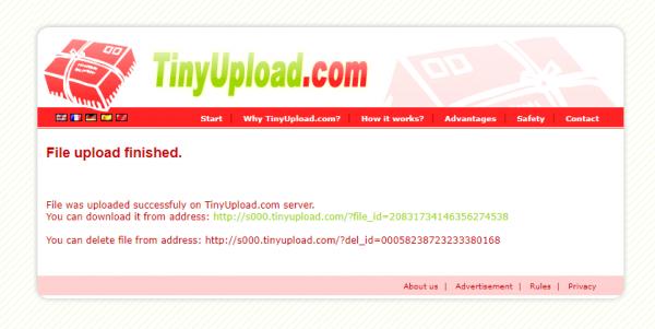 2020 04 30 15 25 52 600x301 - Cần chia sẻ file dung lượng nhỏ mà nhanh, hãy dùng TinyUpload