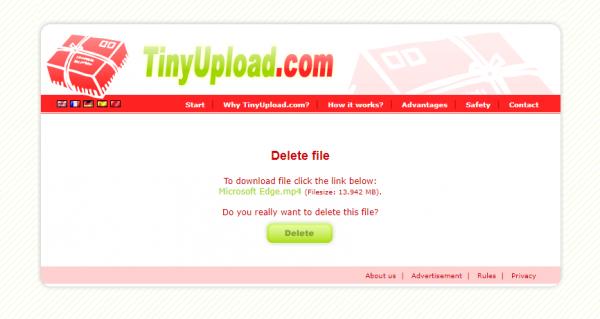 2020 04 30 15 26 13 600x319 - Cần chia sẻ file dung lượng nhỏ mà nhanh, hãy dùng TinyUpload