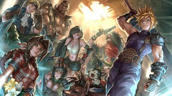 2588312 600x338 - 62 ảnh nền Final Fantasy VII Remake dành cho điện thoại và PC