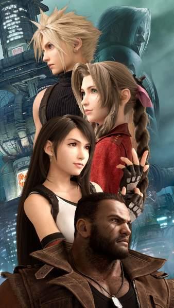 2588347 338x600 - 62 ảnh nền Final Fantasy VII Remake dành cho điện thoại và PC