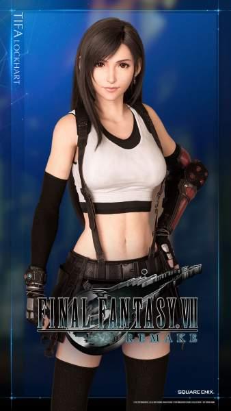 2588414 338x600 - 62 ảnh nền Final Fantasy VII Remake dành cho điện thoại và PC