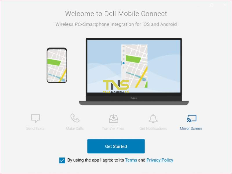 Dell Mobile Connect - chiếu màn hình iPhone lên máy tính 4