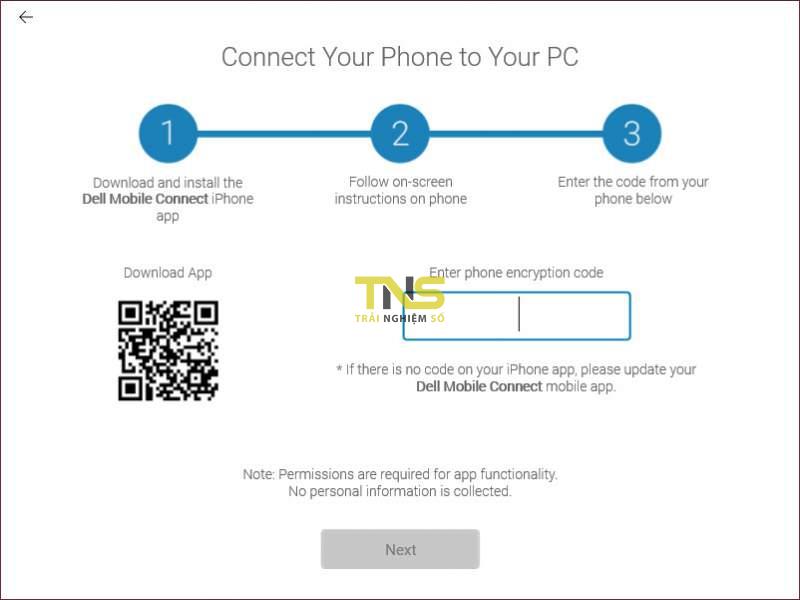 Dell Mobile Connect - chiếu màn hình iPhone lên máy tính 6