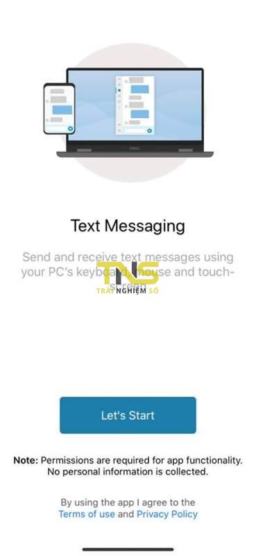 Dell Mobile Connect - chiếu màn hình iPhone lên máy tính 7