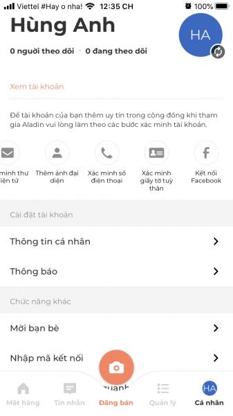 Trải nghiệm Aladin, ứng dụng mua bán mới thuận tiện trên di động 10