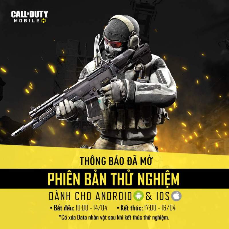 Call of Duty: Mobile VN chính thức Close beta 1
