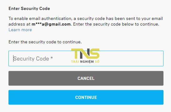 Cách bật mật khẩu 2 lớp để nhận các game miễn phí trên Epic Games Store