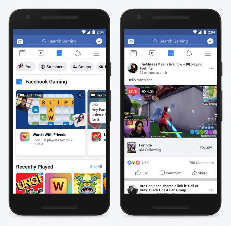 facebook gaming 2 800x782 - Facebook Gaming là gì?