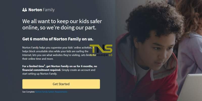 norton family 800x400 - 4 ứng dụng diệt virus, bảo vệ máy tính đang miễn phí