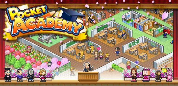 pocket academy - Đang miễn phí game Pocket Academy cực hay trên iOS