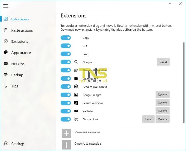 Thanh tiện ích giúp bạn thực hiện hơn 100 tính năng trên Windows 10 1