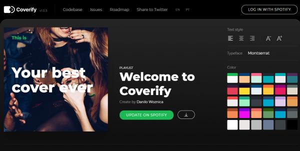 2020 05 03 15 15 15 600x302 - Coverify: Thiết kế ảnh bìa danh sách nhạc Spotify cực chuẩn