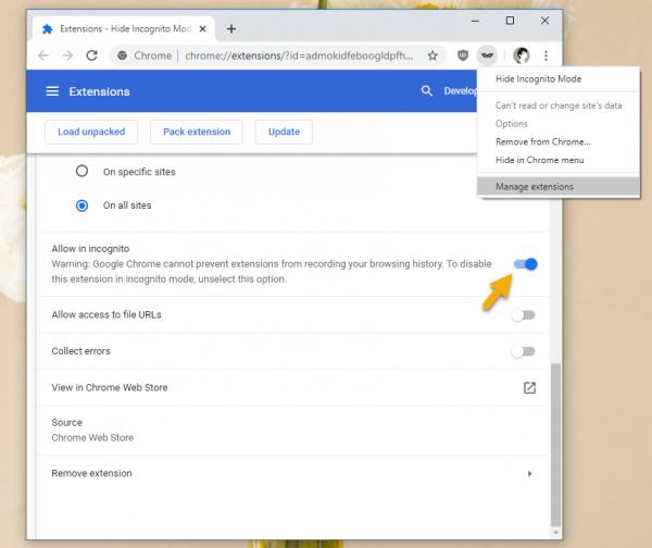 """2020 05 07 17 10 17 600x504 - Hé lộ""""chiêu"""" ngăn trang web biết bạn đang ẩn danh trên Chrome"""