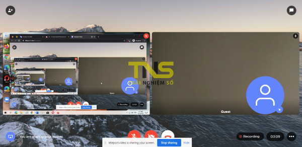 2020 05 13 16 22 20 600x292 - Teleport Video: Nền tảng họp trực tuyến dễ dùng hơn Zoom