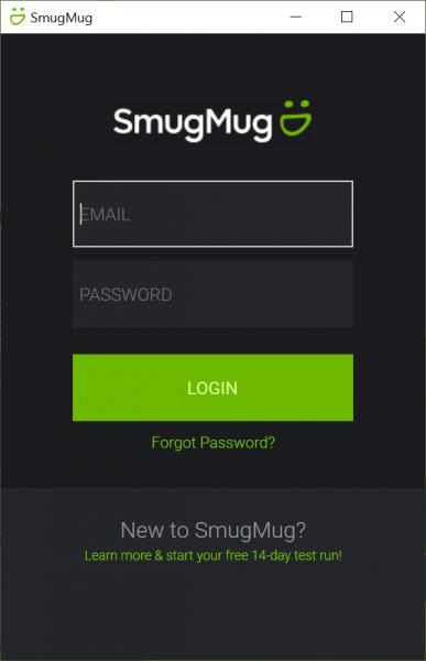Tải ảnh, video lên SmugMug bằng ứng dụng UWP 1