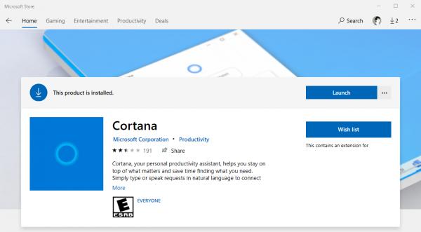 "Khắc phục lỗi ""Cortana is not available"" trên Windows 10 version 2004 4"