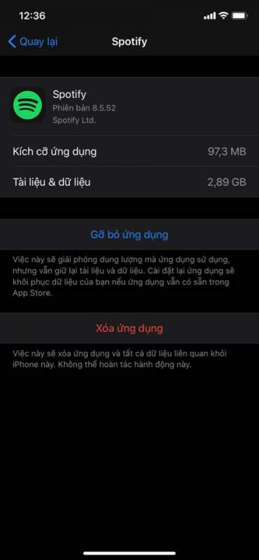 Cách sửa lỗi This app is no longer shared with you trên iOS 13.5 1