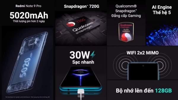 Redmi Note 9 pro 1 600x338 - Xiaomi ra mắt bộ đôi Redmi Note 9 và Redmi Note 9 Pro