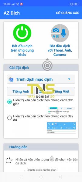 Screenshot 2020 05 11 16 04 56 36 6fde60882aae68e454b64a2b649343b3 270x600 - AZ Dịch: Dịch màn hình, dịch ảnh, dịch giọng nói hơn 100 ngôn ngữ