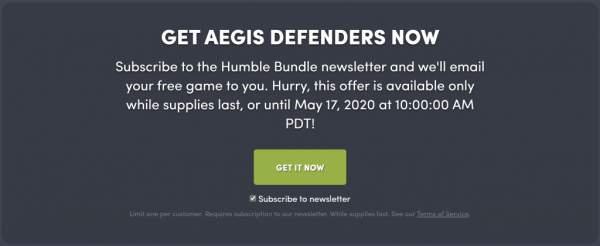 Đang miễn phí game Aegis Defenders