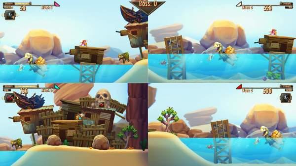 aqua lungers switch screenshot 02 600x338 - Đánh giá game Aqua Lungers