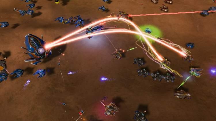 Đang miễn phí game chiến thuật thời gian thật Ashes of the Singularity: Escalation