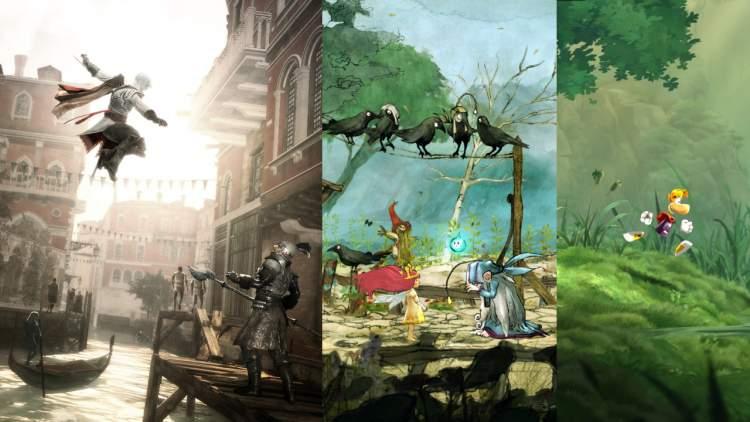 """Đang miễn phí 3 game """"khủng"""" Assassin's Creed II, Rayman Legends và Child of Light"""