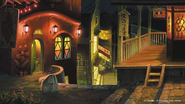 chihiro1 1 600x338 - Top 24 ảnh nền ảo Studio Ghibli dành cho Zoom