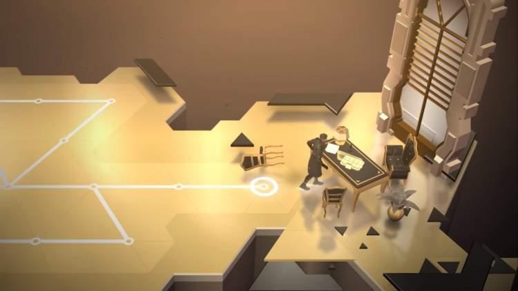Đang miễn phí game Deus Ex GO cho iOS và Android