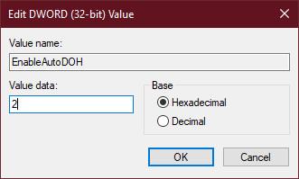 dns over https 3 - Cách bật DNS over HTTPS cho tất cả ứng dụng Windows 10