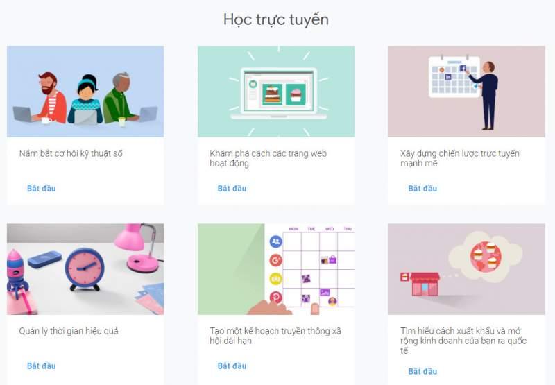 Học digital marketing với 126 khoá học miễn phí của Google 1
