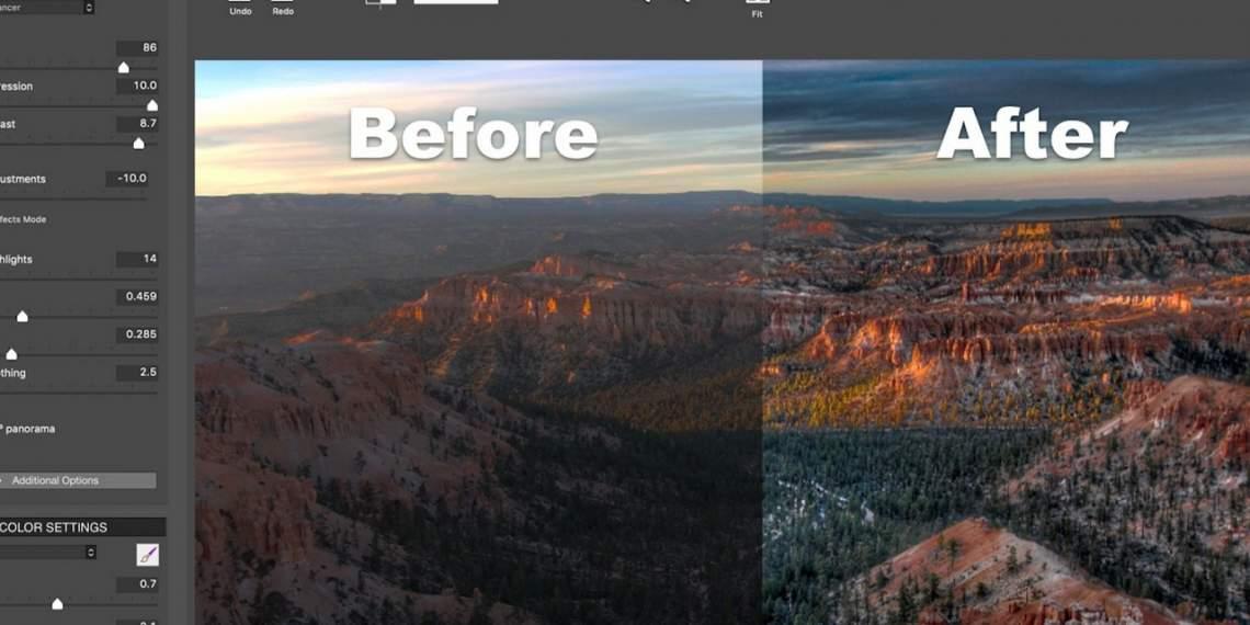 Đang miễn phí ứng dụng chỉnh sửa ảnh Photomatix Essentials HDR