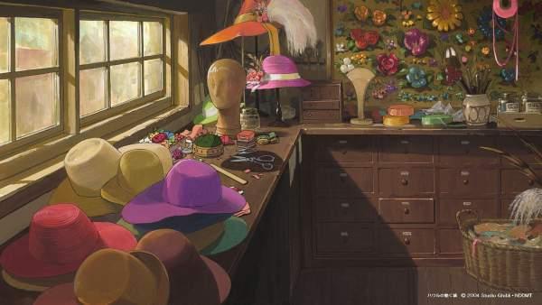 howl1 1 600x338 - Top 24 ảnh nền ảo Studio Ghibli dành cho Zoom