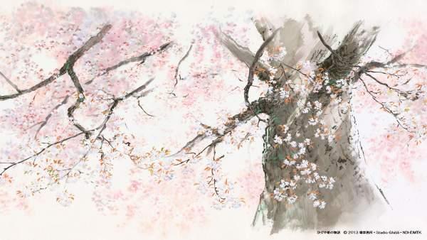 kaguya1 1 600x338 - Top 24 ảnh nền ảo Studio Ghibli dành cho Zoom