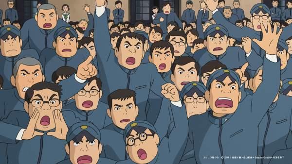 kokuriko1 600x338 - Top 24 ảnh nền ảo Studio Ghibli dành cho Zoom