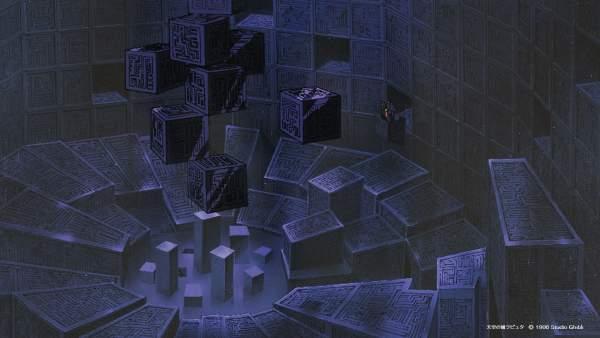 laputa1 600x338 - Top 24 ảnh nền ảo Studio Ghibli dành cho Zoom