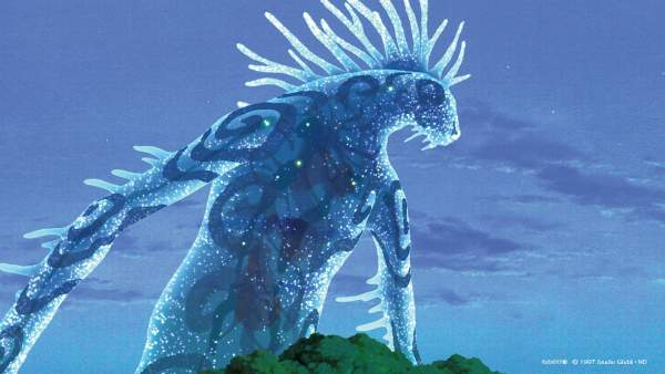mononoke1 600x338 - Top 24 ảnh nền ảo Studio Ghibli dành cho Zoom