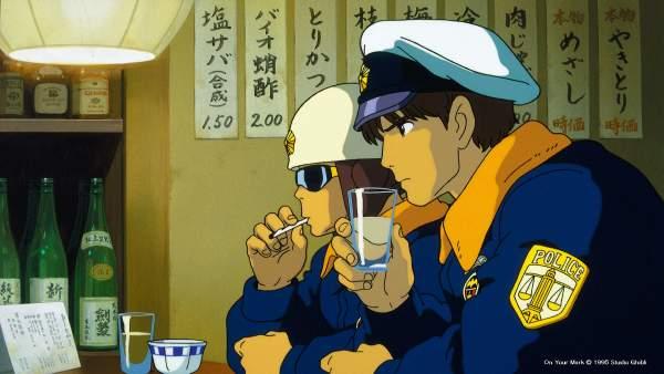 on your mark1 600x338 - Top 24 ảnh nền ảo Studio Ghibli dành cho Zoom
