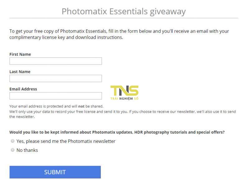 Đang miễn phí ứng dụng chỉnh sửa ảnh Photomatix Essentials HDR 1