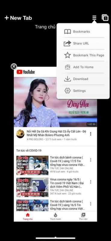 PPBrowser - tải video YouTube trên iPhone dễ dàng 2
