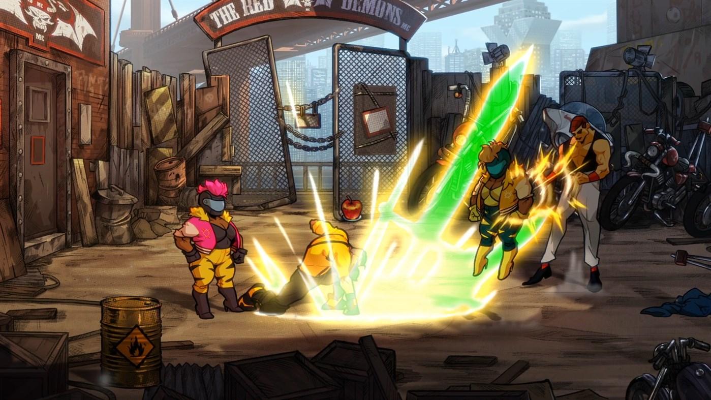 Đánh giá game Streets of Rage 4