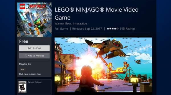 Tải ngay kẻo lỡ The LEGO NINJAGO Movie Video Game đang miễn phí cho Xbox One và PS4